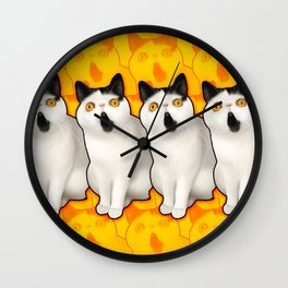 SoulPatchKat Wall Clock