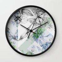 serenity Wall Clocks featuring Serenity by La Scarlatte