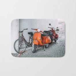 Let's go see the world on our Scooter Bath Mat
