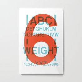 Apt 6 Metal Print