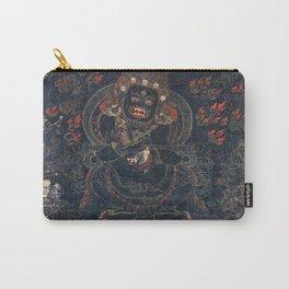 Mahakala Protector Tibetan Buddhist Thangka Carry-All Pouch