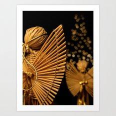 Christmas Angels Art Print