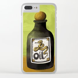 Snake Oil Clear iPhone Case
