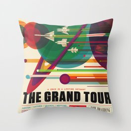 The Grand Tour Throw Pillow