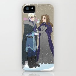 Winter of our Recalescent iPhone Case