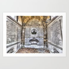 John Adam Architect Greyfriars Art Print
