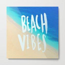 Beach Vibes x Hawaii Metal Print