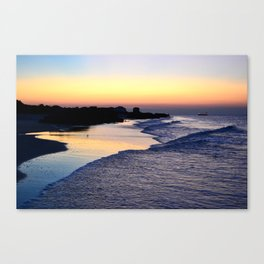 Beach V Canvas Print