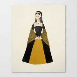 Anne Boleyn - The Six Wives of Henry VIII Original Acrylic on Canvas Canvas Print