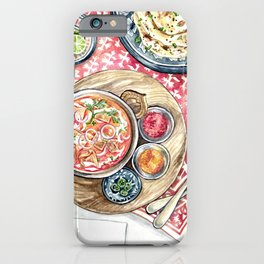 Indian Meal iPhone Case