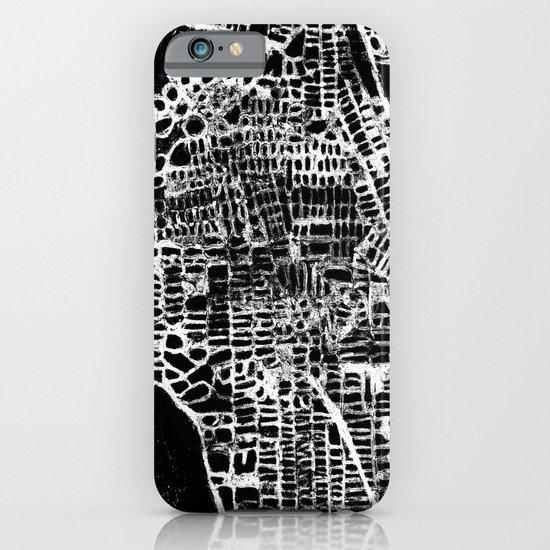 NEW YORK CITY MAP iPhone & iPod Case