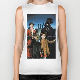 Darth Vader in Mary Poppins Biker Tank