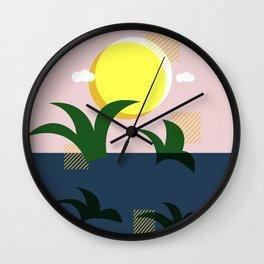 A Beautiful Morning Wall Clock