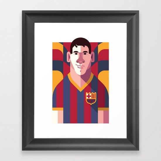 LM10   Blaugrana Framed Art Print