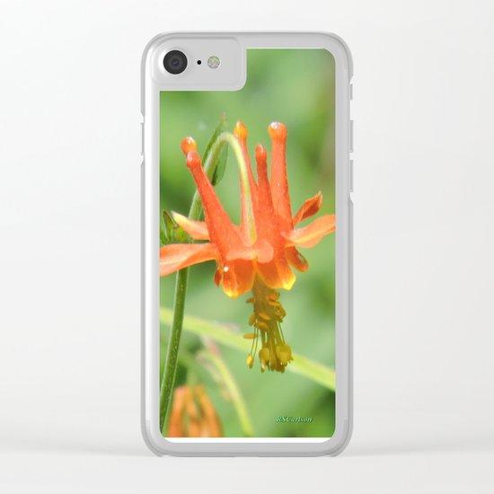 Columbine in the Breeze Clear iPhone Case