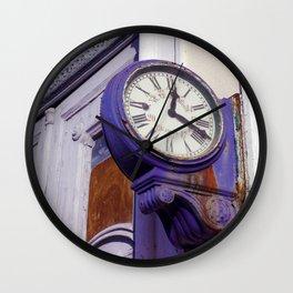 Old Clock at Train Station Wall Clock