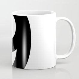 Number 9 (Black & White) Coffee Mug