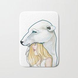 Winter, the Polar Bear God Bath Mat