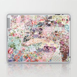 Glasgow map Laptop & iPad Skin