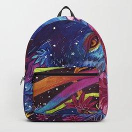 Neon coyote Backpack