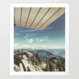 Mount Pilchuck Art Print