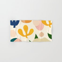 Abstraction_Floral_001 Hand & Bath Towel