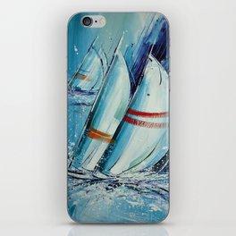 Setting Sail iPhone Skin