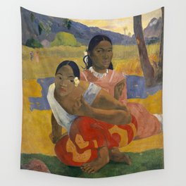 Paul Gauguin - When Will You Marry? Wall Tapestry