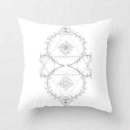 The Alchemist's Throw Pillow