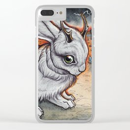 Jackalope Clear iPhone Case