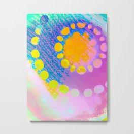 Spring spiral Metal Print