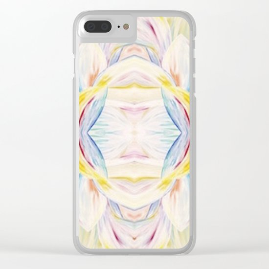 Opal Lotus Clear iPhone Case