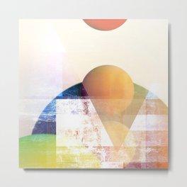 Peaches on Spitzbergen Metal Print