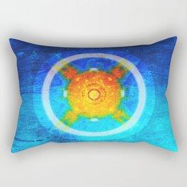 Loving, joyful, and free Rectangular Pillow