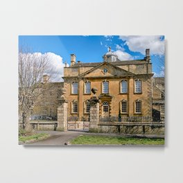 Harrington House Hotel. Metal Print