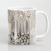 wood Mugs featuring Wood by LebensART