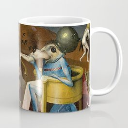 The Garden of Earthly Delights Bosch Hell Bird Man Coffee Mug