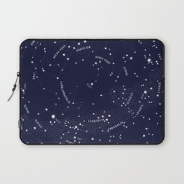Constellation Map - Indigo Laptop Sleeve