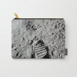 Apollo 11 - First Footprint On The Moon Carry-All Pouch