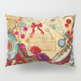 Vintage Love Letters Pillow Sham