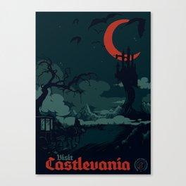 Visit Castlevania Canvas Print