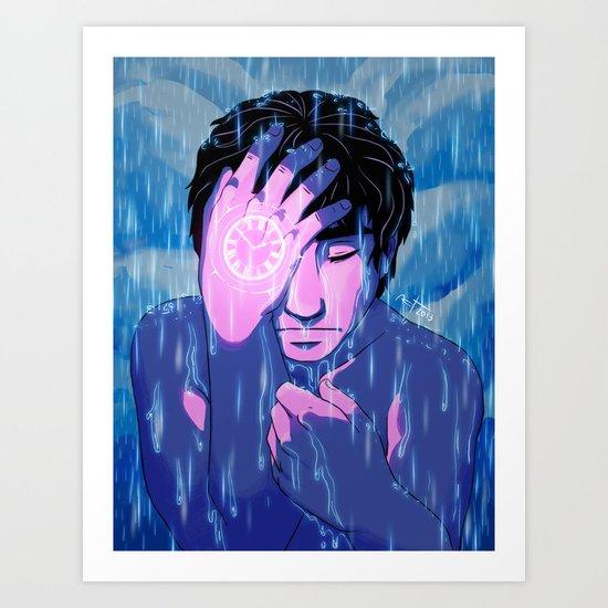 Like tears in the rain Art Print