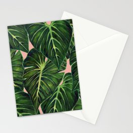 Tropical II Coral Stationery Cards