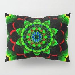 Neon lotus Pillow Sham