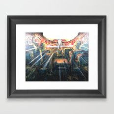 A thousand Suns Framed Art Print