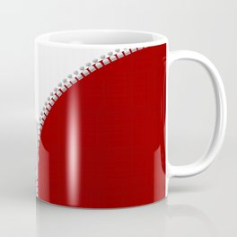 Red Zipper Coffee Mug