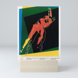 klassisch sarajevo 1984 yougoslavie 16e jeux Mini Art Print