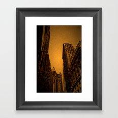 Broad Street DPPA160409b-14 Framed Art Print