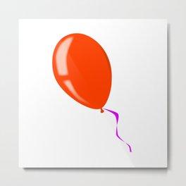 Isolated Balloon Metal Print