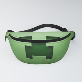 Mine craft face Fanny Pack
